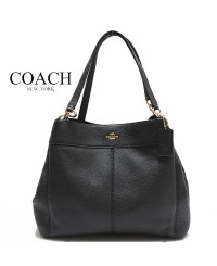 Coach Pebbled Leather Lexy Shoulder Bag in Midnight Colour