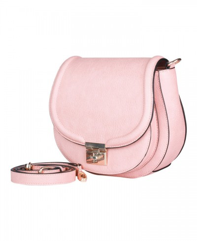Tony Bianco Melfort Pink Crossbody Bag