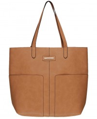 Tony Bianco Milo Large Tote in Tan